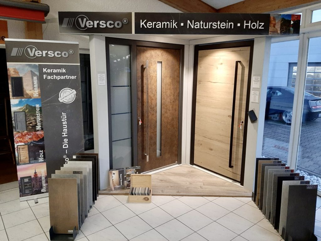 Ausstellung Versco Haustüranlagen